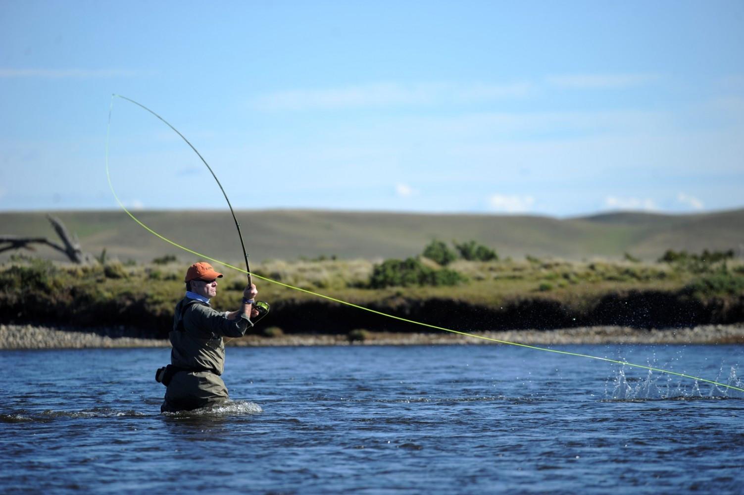 Pesca deportiva   Fin del Mundo - Tierra del Fuego, Ushuaia, Antartida, Patagonia, Argentina