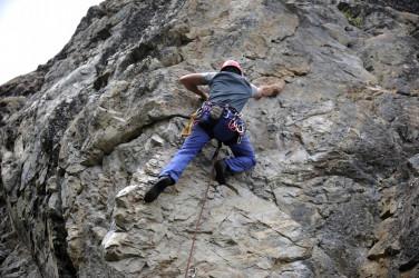 Escalar el hielo y roca más australes