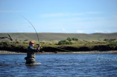 Pescar truchas récords mundiales