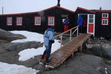 Envío postal antártico