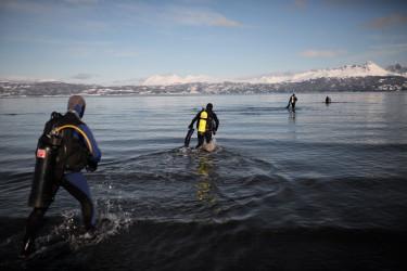 Bucear en aguas extremas