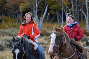 Cabalgatas en Ushuaia
