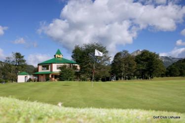 Jugar al golf en el último confín