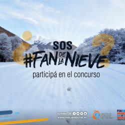Concurso Fotográfico #FanDeLaNieve 2020